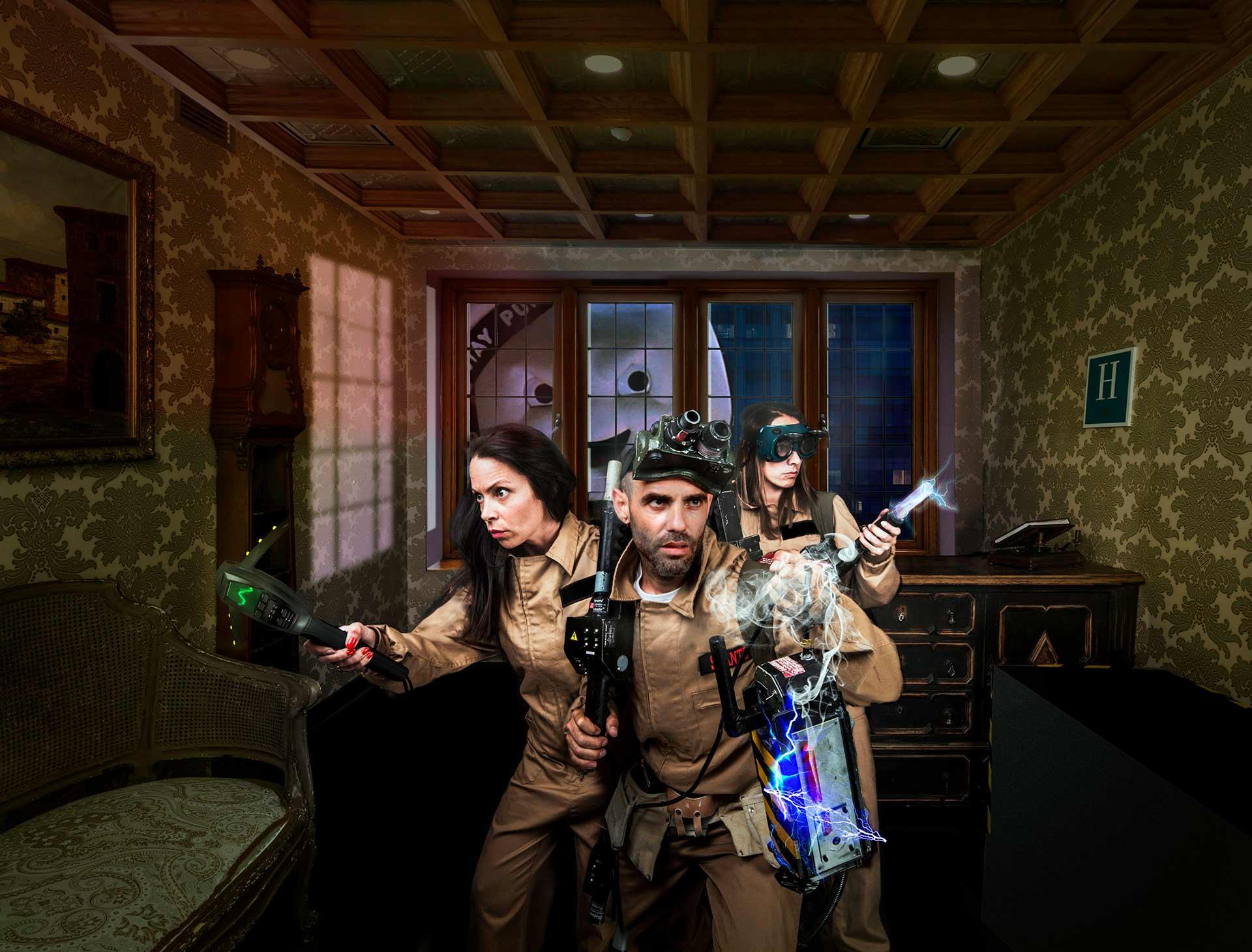 Caza fantasmas Escape Room