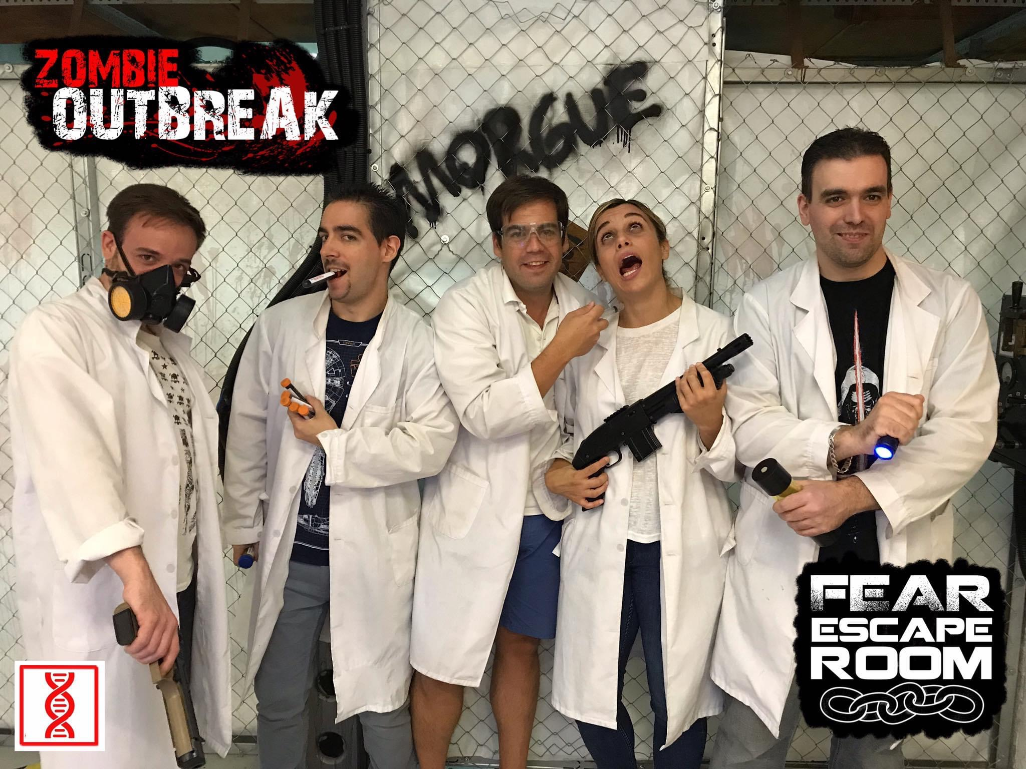 Fear Escape Room nuestra